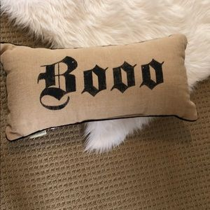 Burlap Pottery Barn Pillow